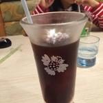 びっくりドンキー - カフェオンザロック アイスコーヒーです