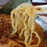 蔵 - 味噌 太麺をチョイス!
