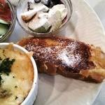 レイクサイドガーデン&カフェ - ふわふわのフレンチトースト