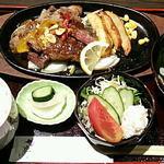 42556180 - ステーキ定食 1,500円