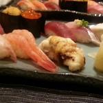 42556497 - お寿司10貫