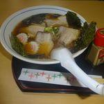 食堂大和 - 料理写真:チャーシューラーメン