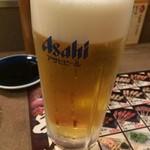 秋吉 - 生ビール