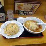 福しん - チャーハンセット(690円)餃子はまだ