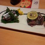 42558738 - 秋刀魚の刺身
