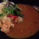 42558998 - 白味噌で使った京野菜のカレー