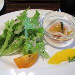 オールド ニュー カフェ - パスタセットのサラダ