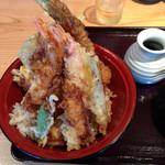42560683 - 米福天丼大盛り