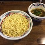 麺鮮醤油房 周月 - つけそば 中盛り〜(*^◯^*)♪