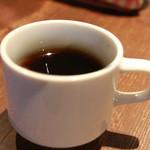 ビアパブ ファイズ - ランチタイム カレーの食後にコーヒー100円