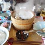 美野幸 - 天然真鯛の石焼き定食(2500円)