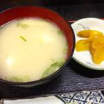 おけいちゃん - 魚のツミレ入り白味噌汁