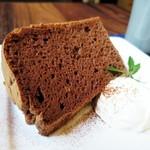 白檀 - ココアシフォンケーキ