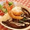 レストランびら館 - 料理写真:海老フライカレー(880円)