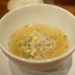 私厨房 勇 - 梅と紫蘇のスープチャーハン