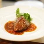 私厨房 勇 - 牛頬肉のトマト煮込み