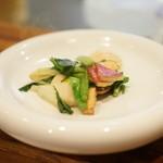 私厨房 勇 - 三陸産活帆立貝と中国野菜の炒め