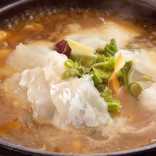 【当店おすすめ】鯛の刺身入りスープチャーハン