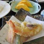お魚処 玄海 - 天ぷらも御膳に付いてます。