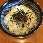 一休 - ミニ明太子ご飯290円