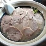 博多ラーメン しばらく 日本橋店 - 大判チャーシュー麺¥980