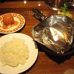42576246 - 東洋亭ハンバーグステーキ(Aランチ)(2015.09)