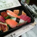太助寿司 - 料理写真:にぎり(特)の図