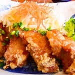 藍屋 - 若鶏の甘酢あん定食