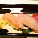 お食事処あやの - 食事(にぎり寿司)
