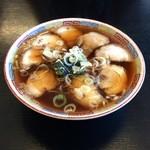ふじわら屋 - チャーシュー麺