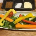 42580893 - 野菜スティック(^^)