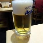 浅草 ときわ食堂 - 生ビール(中)¥590