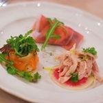 ラ・ルーチェ - 前菜3種の盛り合わせ