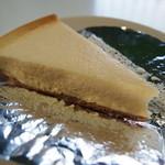 ララハウス - 看板メニューのチーズケーキ  これンマイわ!人気あること納得しますよ!