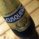 パライゾ ブラジル ヨコハマ - クスケーニャ(350円)ペルーのビールです。2015年9月