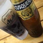 パライゾ ブラジル ヨコハマ - 黒ビールで甘いです。2015年9月