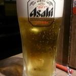 一蘭 - 生ビール