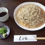 甘味 手打ち蕎麦 しも村 - ざるそば(800円)