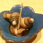 いぶき - 料理写真:2015年9月 付け出しの煮バイ貝