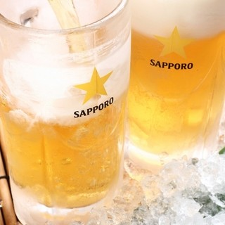 ビールはいつでも380円!