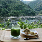 おちゃくりcafe - 四万十川と山の景色です♪