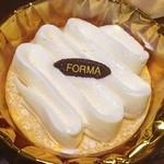 FORMA - 季節限定パンプキンチーズケーキ