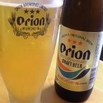 42590919 - オリオンビール♪