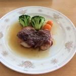 レストラン ミネルバ - 豚ヒレ肉の生ハム巻き