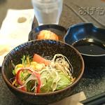 齊藤牧場 - サラダ&キムチ&たれ [焼肉定食]