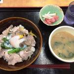 42591940 - 毛呂豚の柚子塩丼セット