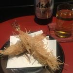 こいずみ - 揚げ物 海老の天ぷら  衣が千切りしたジャガイモで食感の楽しい天ぷらでした