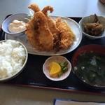 うま亭 - 魚フライ定食900円(税込)