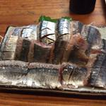 魚喜 - さんま刺し