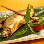 日本料理 たかむら - 鮎の焼物